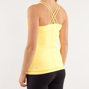 Lululemon Free To Be Strappy Yoga Tank DOT 6